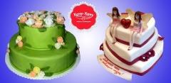Торты на заказ от кондитерской «Хочу-Хочу»: свадебные, корпоративные, детские