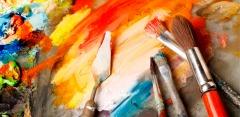 Уроки в «Школе живописи»: акварель, масло, мастихин, пластилин