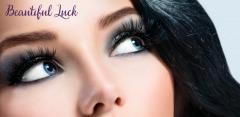 Коррекция и окрашивание бровей хной, наращивание ресниц в Beautiful Luck
