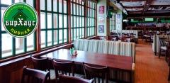 Отдых в сети ресторанов «БирХаус»: всё меню и напитки за полцены