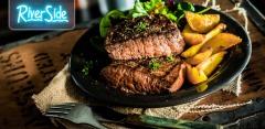 Отдых с любыми блюдами и напитками на выбор в ресторане RiverSide