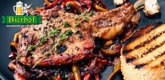 Отдых в ресторане «Бирхоф»: любые блюда и напитки за полцены