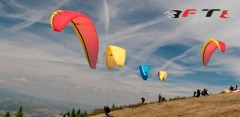 Полет на параплане или паралете с опытным инструктором от компании Free Fly Team