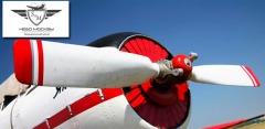 Пилотирование на авиационном симуляторе с оригинальной кабиной самолета Як-52