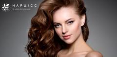 Окрашивание, мелирование, стрижка и уход за волосами в салонах «Нарцисс»