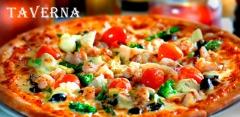 Наборы из пиццы, роллов, осетинских пирогов с доставкой от компании Tavernafood