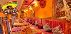 Отдых с любыми блюдами и напитками в ресторане мексиканской кухни Sombrero