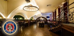 Салаты, закуски, мясные блюда, а также напитки, банкеты в ресторане Brauhaus G&M
