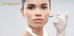 Увеличение губ, коррекция носогубных морщин в клинике «Большая семья»