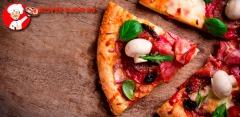 Пицца от службы доставки Mister Sushi