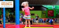 1 или 2 часа прыжков на батутах в батутном клубе Bounce Kitchen
