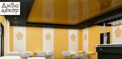 Натяжные потолки площадью от 10 до 100 кв. м от компании «Дива декор»