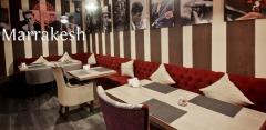 Блюда узбекской и марокканской кухни, а также напитки в ресторане «Марракеш»