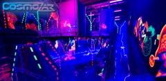 Игра в лазертаг в любой день недели в сети развлекательных центров Cosmozar