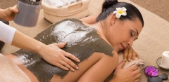 От 1 до 7 сеансов массажа, обертывания и пилинга на выбор с ИК-сауной и фиточаем