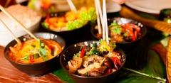 Все меню кухни и напитки в караоке-ресторане «Хан-Тенгри»: салаты, супы, гарниры