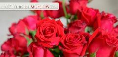 Букеты из эквадорских или голландских роз, хризантем, гвоздик или тюльпанов