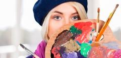 Рисование маслом, пастелью, батик, декупаж в студии «Валенсия»