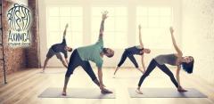 Абонементы на 8 или 12 занятий в студии йоги «Ахимса»
