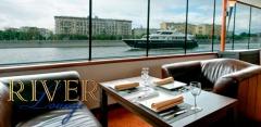 Прогулка по Москве-реке на теплоходе River Lounge + обед или ужин!