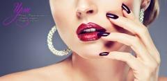 Маникюр и педикюр с покрытием, а также дизайн ногтей в студии красоты «Ирис»