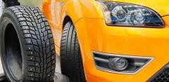 Шиномонтаж колес от R13 до R19 с балансировкой в автосервисе SerBestM