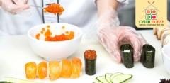Мастер-классы по приготовлению суши и роллов в школе «Суши повар»