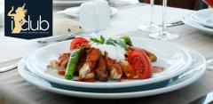 Отдых в клубе-ресторане I-Club: все меню и напитки за полцены