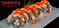 Меню службы доставки суши-бара «Тэмпура»: суши, роллы, пицца, салаты и не только