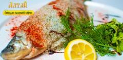 Любые блюда и напитки в ресторане русской кухни «Алтай» за полцены