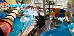 Целый день развлечений в комплексе «Мореон»: аквапарк, термы и spa