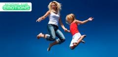 Прыжки на батуте или аренда батутного центра Emotions