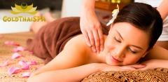 Тайский, тибетский или oil-массаж, а также spa-программы в салоне Gold Thai Spa