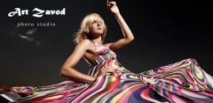 Профессиональная фотосессия с дизайнерскими костюмами в фотостудии Art Zavod